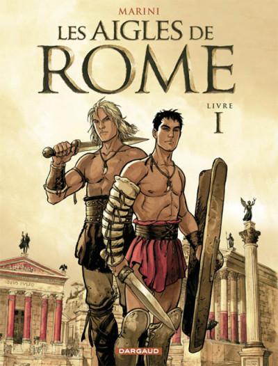 Couverture les aigles de rome tome 1