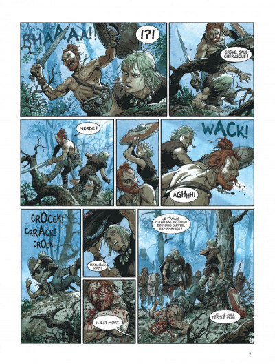 Page 7 les aigles de rome tome 1