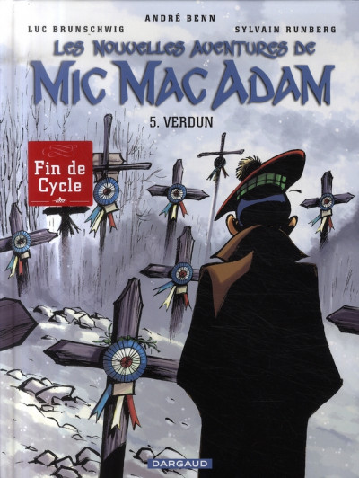 Couverture Les nouvelles aventures de Mic Mac Adam tome 5 - Verdun