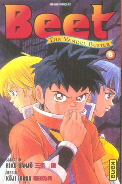 Couverture beet the vandel buster tome 6