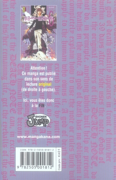 Dos death note tome 6
