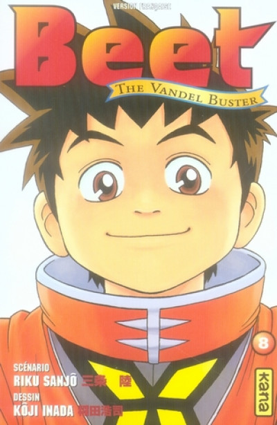 Couverture beet the vandel buster tome 8