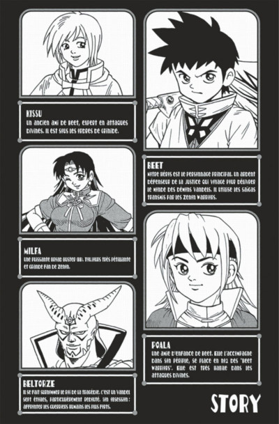 Page 4 beet the vandel buster tome 8