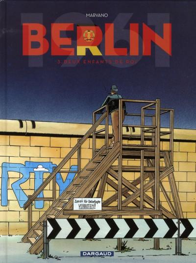 image de berlin (marvano) tome 3 - deux enfants de roi
