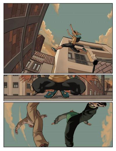 Page 2 en sautant dans le vide tome 1 - le premier pas