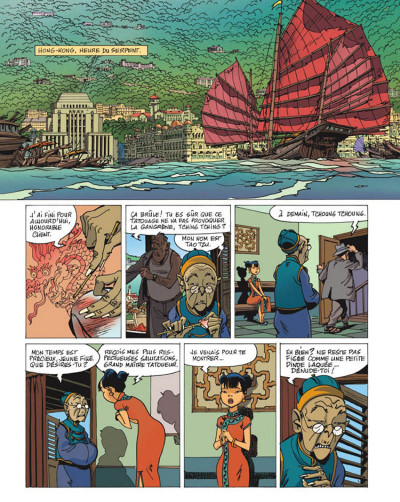 Page 1 tigresse blanche tome 5 - l'année du phoenix