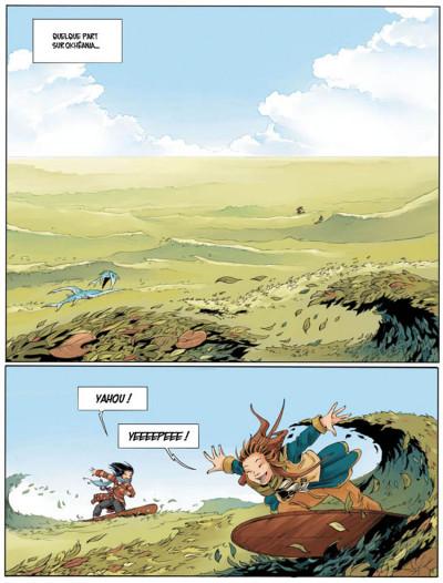 Page 1 Okheania tome 1 - le tsunami