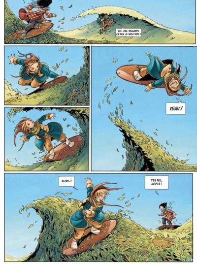 Page 2 Okheania tome 1 - le tsunami