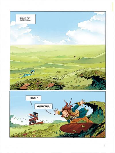 Page 3 Okheania tome 1 - le tsunami