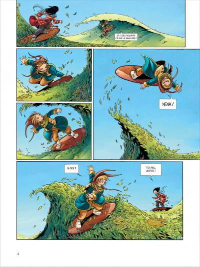 Page 4 Okheania tome 1 - le tsunami