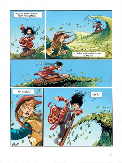 Page 5 Okheania tome 1 - le tsunami