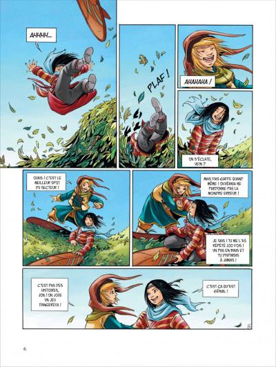 Page 6 Okheania tome 1 - le tsunami