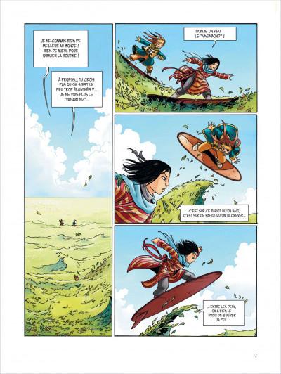 Page 7 Okheania tome 1 - le tsunami