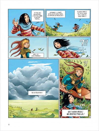 Page 8 Okheania tome 1 - le tsunami