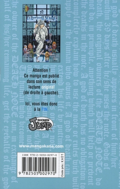 Dos death note tome 9