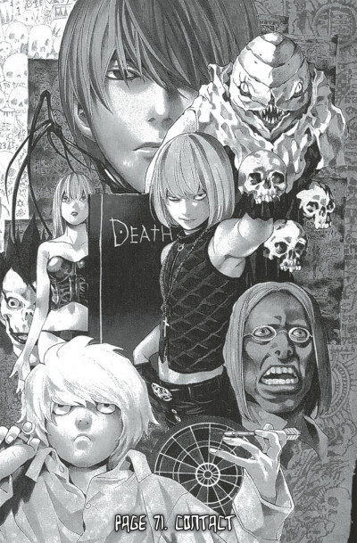 Page 7 death note tome 9