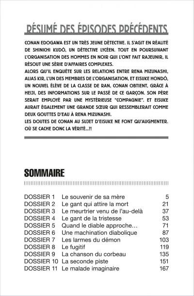 Page 4 détective conan tome 57