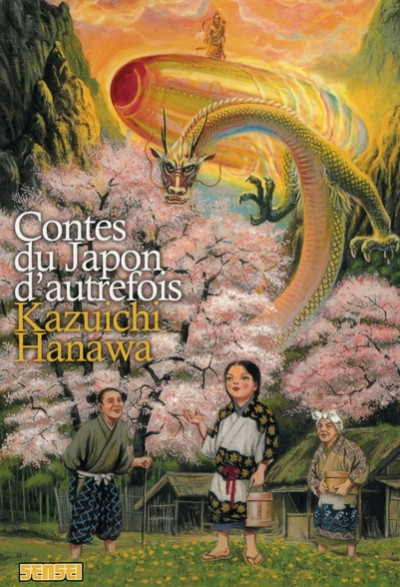 Couverture contes du japon d'autrefois