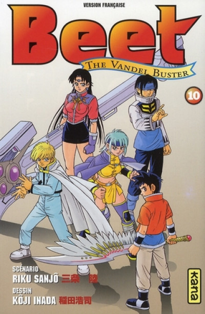 Couverture beet the vandel buster tome 10