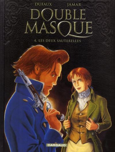 image de Double masque tome 4 - les deux sauterelles
