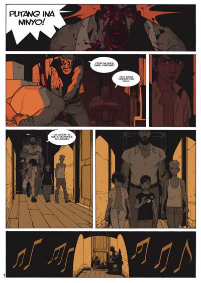 Page 1 Jazz Maynard tome 2