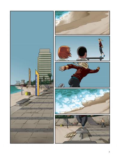 Page 1 en sautant dans le vide tome 2 - l'orage approche