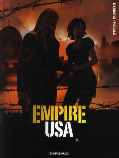 Couverture empire usa tome 6