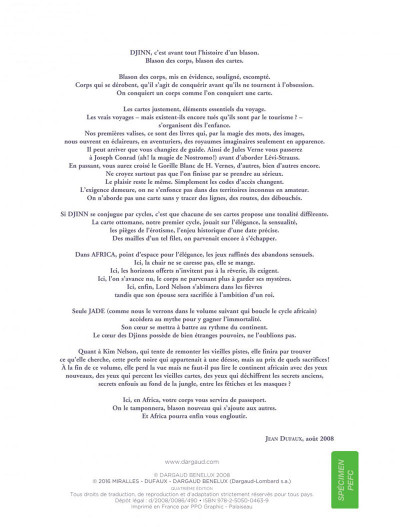 Page 2 djinn tome 8 - fièvres