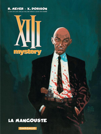 Couverture xiii mystery tome 1 - la mangouste