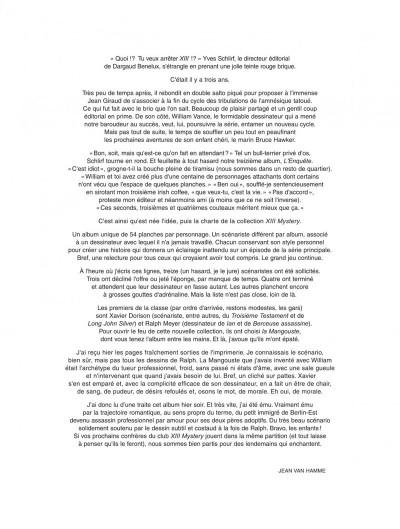 Page 2 xiii mystery tome 1 - la mangouste