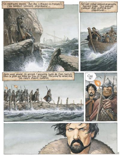 Page 1 complainte des landes perdues - cycle 2 tome 1 - moriganes