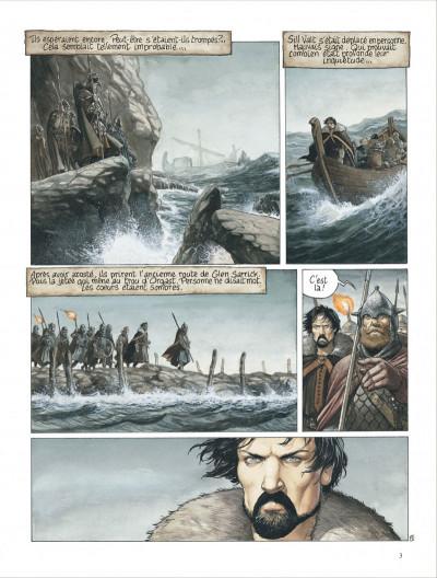 Page 3 complainte des landes perdues - cycle 2 tome 1 - moriganes