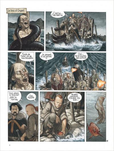 Page 4 complainte des landes perdues - cycle 2 tome 1 - moriganes