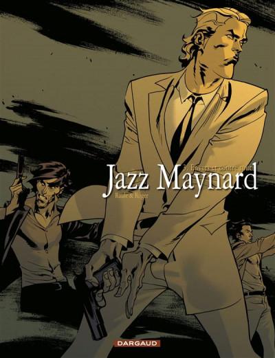 Couverture jazz maynard tome 3 - envers et contre tout