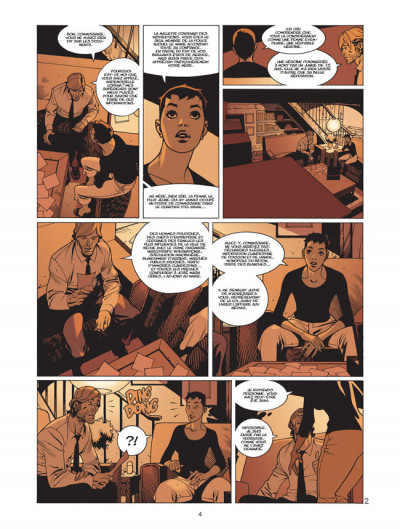 Page 2 jazz maynard tome 3 - envers et contre tout