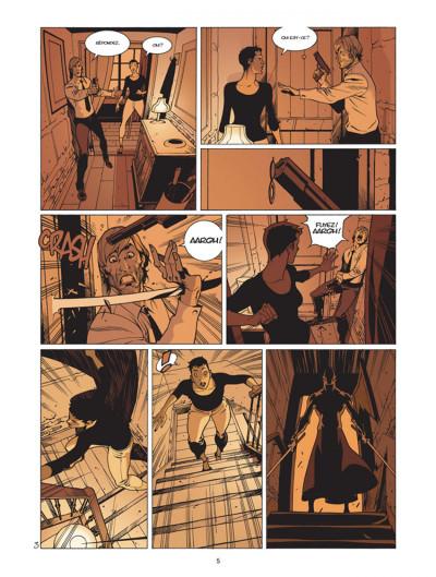 Page 3 jazz maynard tome 3 - envers et contre tout
