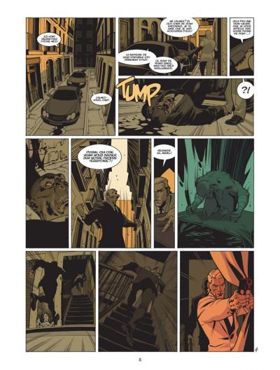 Page 4 jazz maynard tome 3 - envers et contre tout