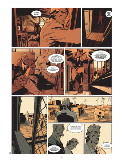 Page 5 jazz maynard tome 3 - envers et contre tout