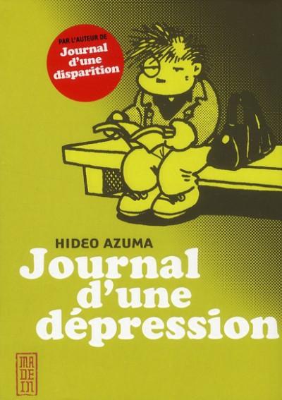 Couverture journal d'une dépression