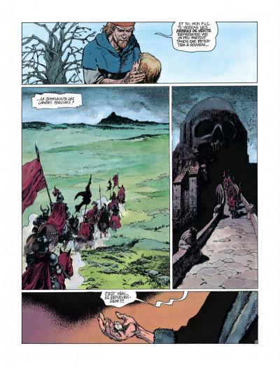 Page 4 Complainte des landes perdues - cycle Sioban tome 2