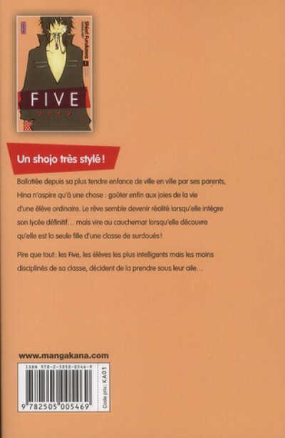 Dos five tome 1
