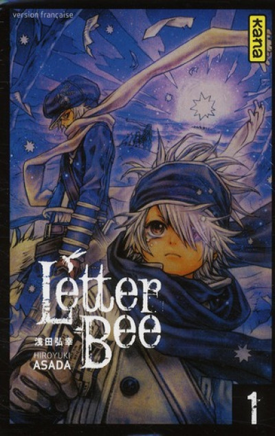 Couverture letter bee tome 1