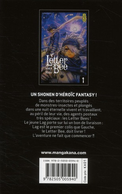 Dos letter bee tome 1