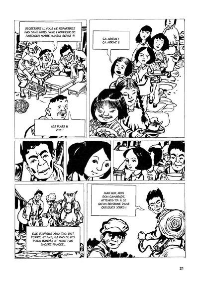 Page 4 une vie chinoise tome 1 - le temps du père