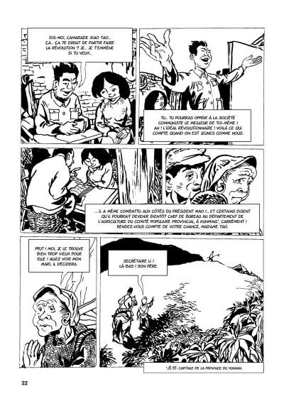 Page 5 une vie chinoise tome 1 - le temps du père