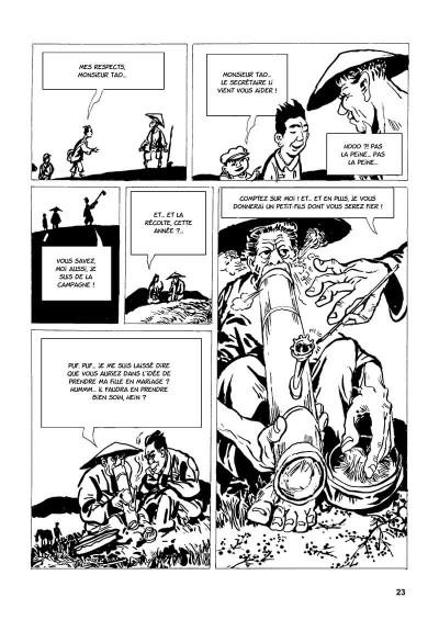 Page 6 une vie chinoise tome 1 - le temps du père
