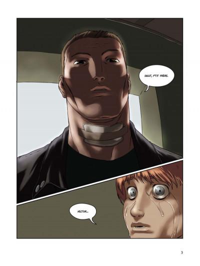 Page 1 en sautant dans le vide tome 5 - le dernier pas