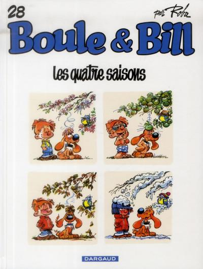 image de Boule & Bill tome 28 - les quatre saisons