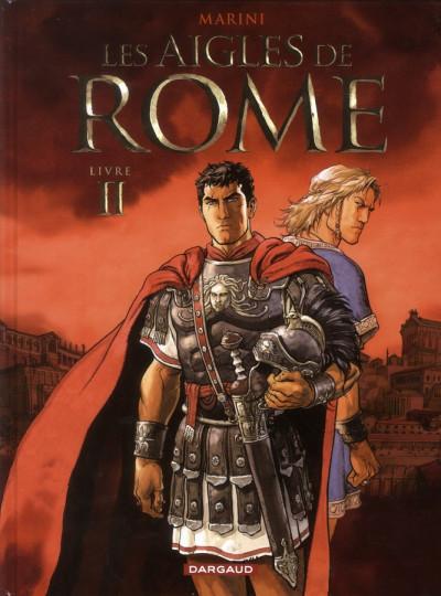 Couverture les aigles de rome tome 2