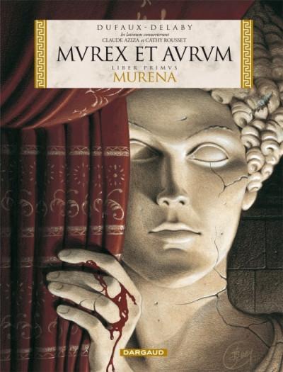 Couverture murena tome 1 - en latin - murex et aurum